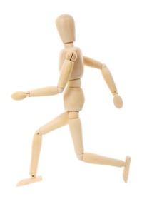 running doll